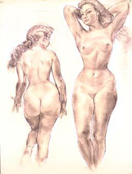 Dues figures | Ripoll, M.Teresa i Sahagún