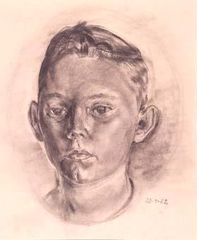 Retrat de nen | Ripoll, M.Teresa i Sahagún