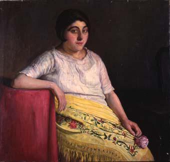Muchacha de la flor | Sancho Piqué, Josep