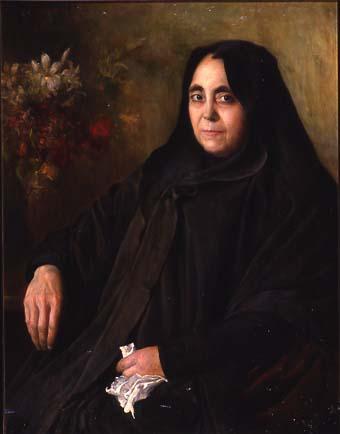 Dama de la toca negra | Sancho Piqué, Josep