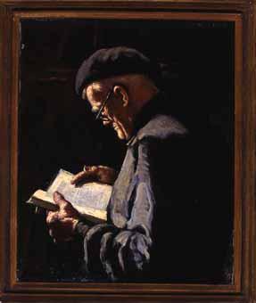 Vell llegint | Lahosa Valimaña, Joan