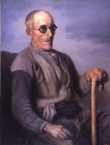 Vell amb ulleres | Sancho Piqué, Josep