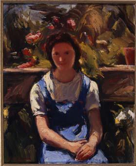 Noia al jardí | Lahosa Valimaña, Joan
