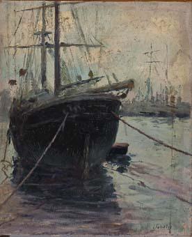 Vaixells. Port de Barcelona | Sancho Piqué, Josep