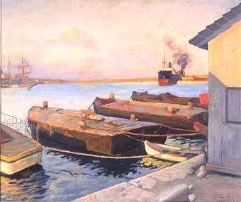 Vaixells de vapor | Sancho Piqué, Josep