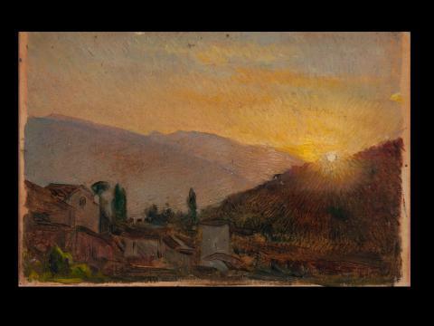 Boceto de salida del sol | Nogué Massó, José