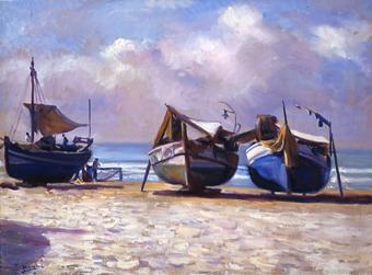 Barques a Calafell | Nogué Massó, José