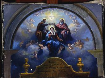 Boceto Iglesia de Moyà | Nogué Massó, José