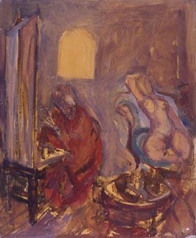 El pintor i la model | Saumells Panadés, Lluís M.