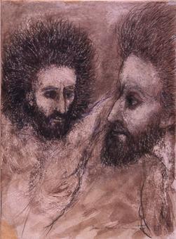 Jesús i Dimes a la Creu | Saumells Panadés, Lluís M.