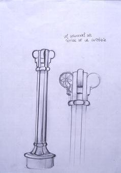 Columnes del seient | Borrás Fà, Jordi