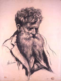 Vell barbut | Sancho Piqué, Josep