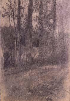 Paisatge amb arbres | Sancho Piqué, Josep