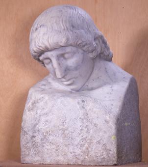 Busto de Héroe muerto | Julio Antonio (Rodríguez Hernández, Julio Antonio)