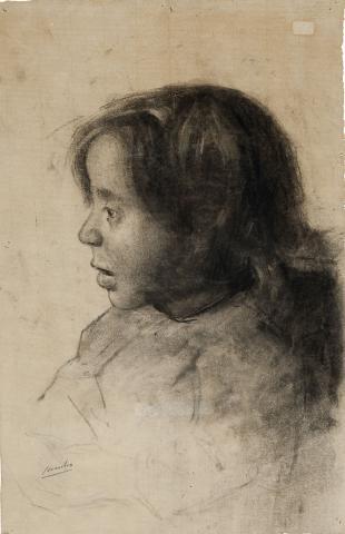Perfil de nena | Sancho Piqué, Josep