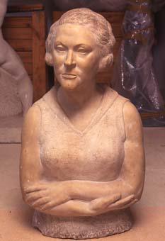 Bust de Maria | Costa Vaqué, Santiago
