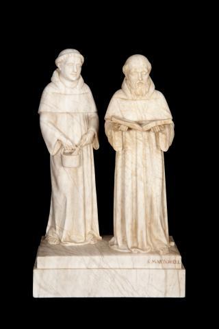 Dos monjos | Martorell Ollé, Salvador