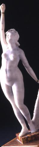 Dona nua amb el braç aixecat | Martorell Ollé, Salvador