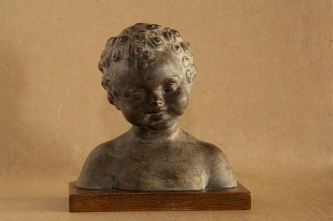 Bust d'infant o cap rinxolat | Martorell Ollé, Salvador