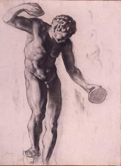 Nu masculí | Sancho Piqué, Josep