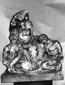 Maqueta de monument a Saavedra | Julio Antonio (Rodríguez Hernández, Julio Antonio)