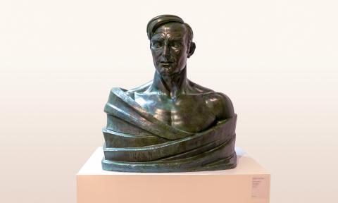 Bust de Julio Antonio   Costa Vaqué, Santiago
