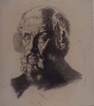 Bust d'home | Sancho Piqué, Josep