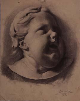 Cap de nen   Sancho Piqué, Josep