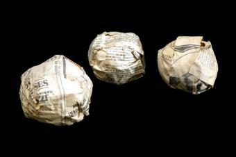 3 pilotes de paper   Messa (Sempere i Fernández de Mesa,  Francesc)