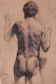 Nu masculí   Sancho Piqué, Josep