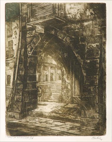 Arc de Merceria. | Rubio Martínez, Mariano