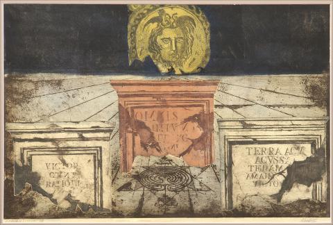 La Medusa y làpidas | Rubio Martínez, Mariano