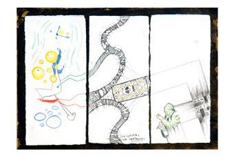 Cadavre & Grafit 6 | Bartolozzi Aymamí, Nil