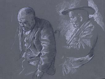 Dos vells   Sancho Piqué, Josep