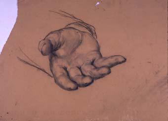 Estudi d'una mà   Sancho Piqué, Josep