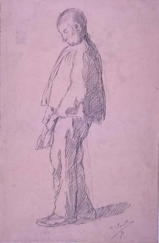 Home amb gorra   Sancho Piqué, Josep