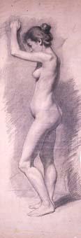 Perfil femení nu | Sancho Piqué, Josep