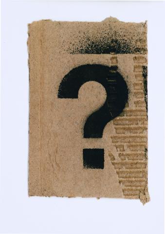 Cadavre & Grafit-Signe Interrogant | Queralt Baiges, Lluc