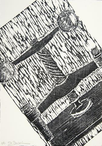 Xilografies per a Katia   Quiroga, Ana de