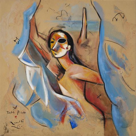 Demoiselle à Pablo Picasso | Rosselló ( Roselló Virgili, Josep M)