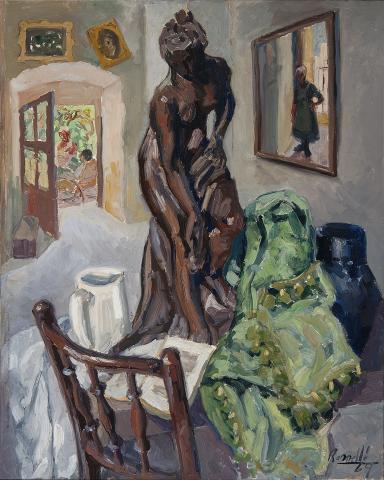 Interior amb mirall | Rosselló ( Roselló Virgili, Josep M)