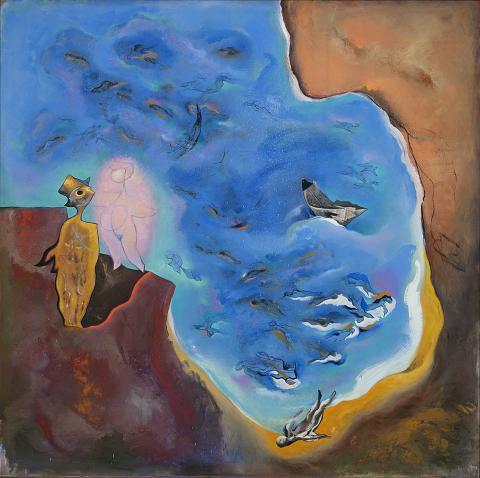 Triptíc La gran fossa | Rosselló ( Roselló Virgili, Josep M)