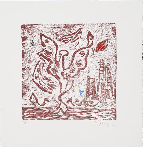 Cantics Profans II-El Serafí en flames | Rosselló ( Roselló Virgili, Josep M)