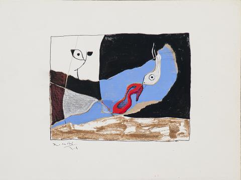 Peix i sabata vermella | Rosselló ( Roselló Virgili, Josep M)