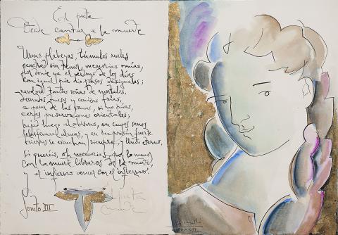 El poeta decide cantar a la muerte | Rosselló ( Roselló Virgili, Josep M)