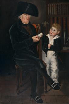 Retrat de D.Pablo de Baldrich y su nieto | Ferran i Satayol, Antoni