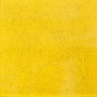 Yellow on black scratch | Peña Gil, Pedro
