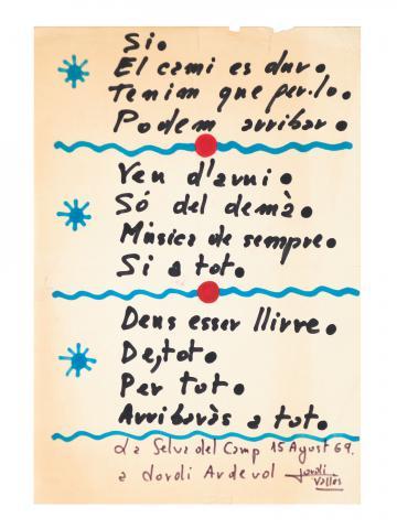 Poema | Vallès Ferré, Jordi