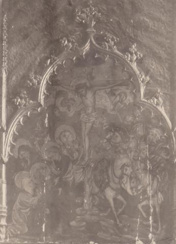 Vilarrodona. Sagristia. Taula de la Crucifixió | Català i Pic, Pere