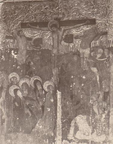 Alcover. Església de la Sang. Taula de la Crucifixió | Català i Pic, Pere